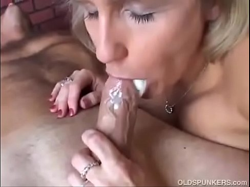 Takes mouth milf cum in