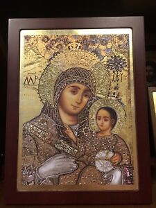 Greek orthodox byzantine icons
