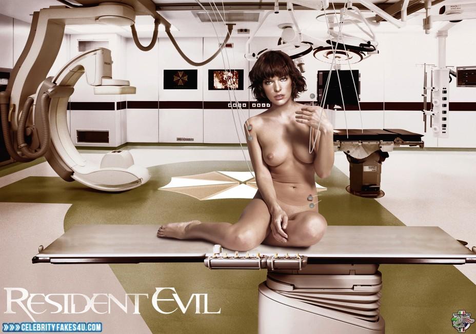Milla jovovich nude resident