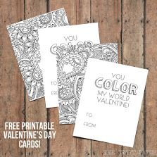 Free printable adult valentine day card