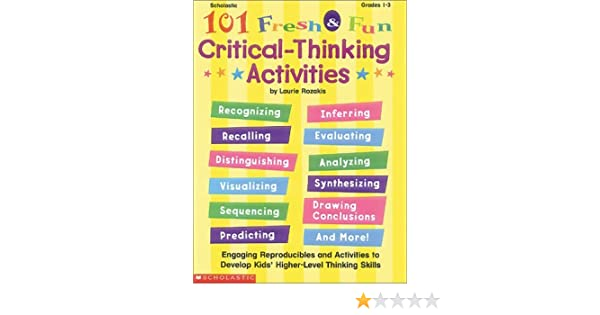 Critical thinking exercise for adults