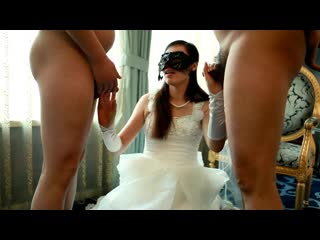 Bride gets gangbanged fucked hard