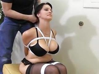 Busty bound tied nudes