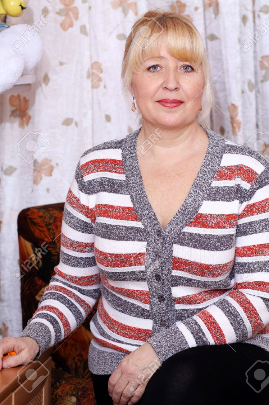 Mature russian older woman