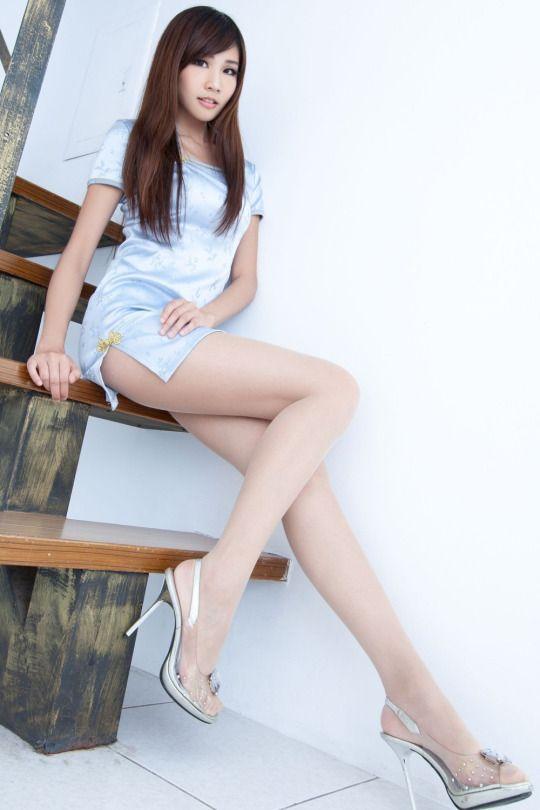 Beautiful girls with long legs