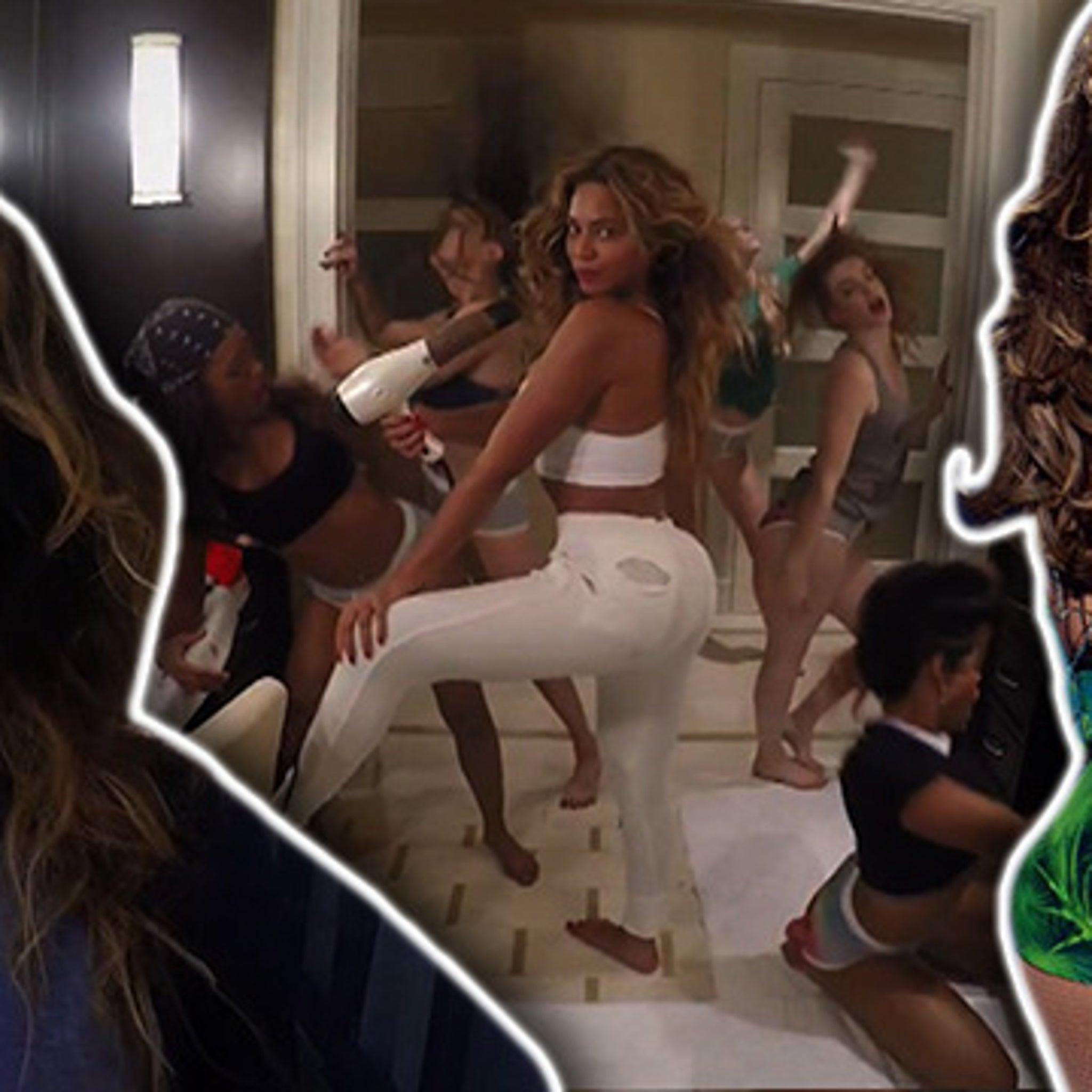 Beyonce look alike ass