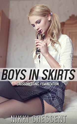 Cross dress teen boy