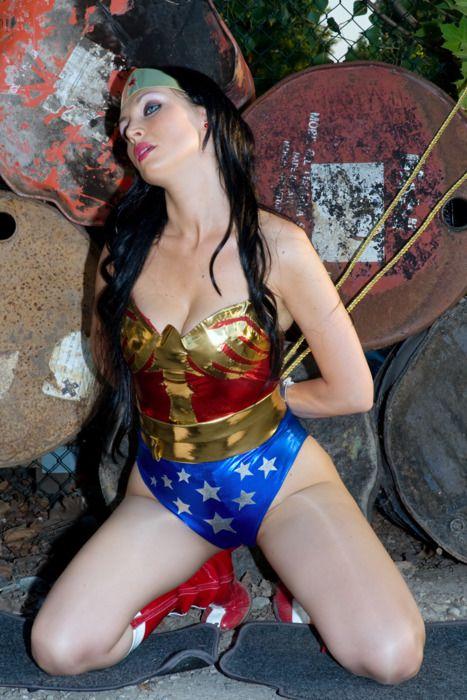 Wonder nude naked cosplay woman