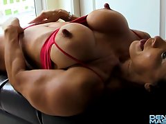 6 pack abs porn woman
