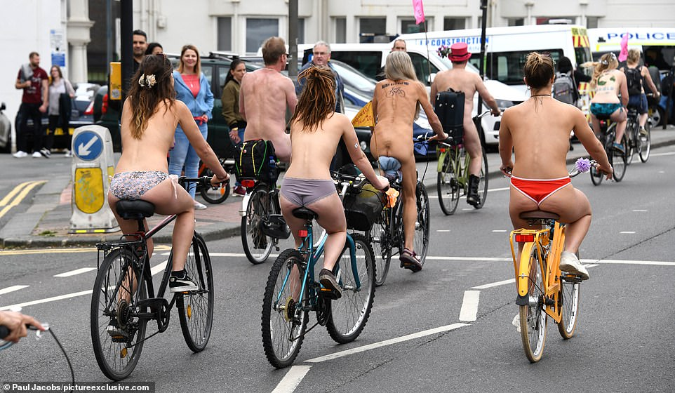 Miami world naked bike ride nude