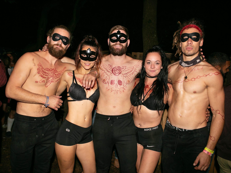Naked nudist parties nude