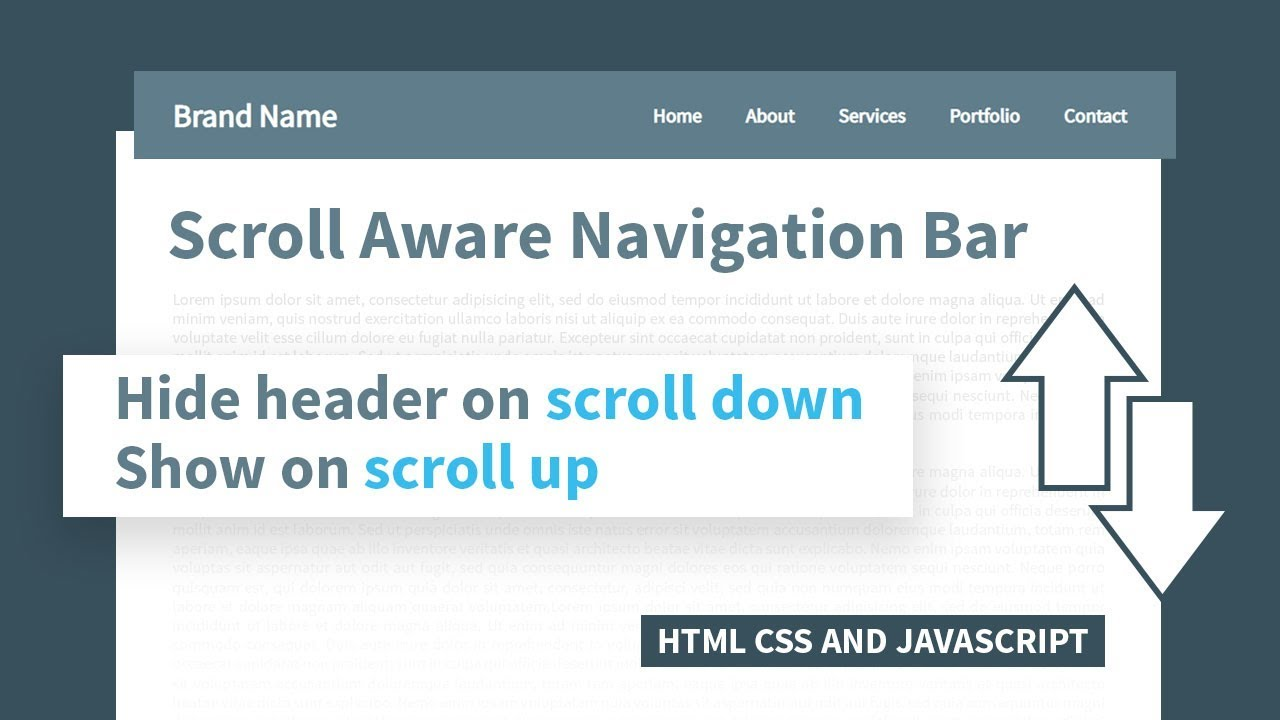 Html scroll to bottom