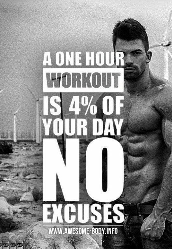 Bodybuilding motivation no excuses