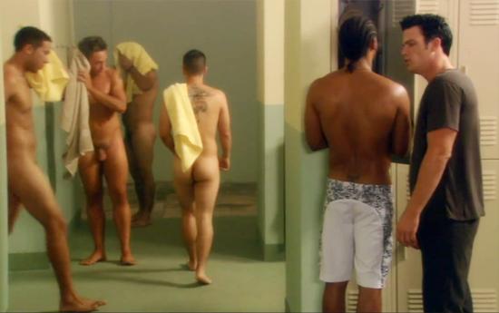 Locker nude room boys