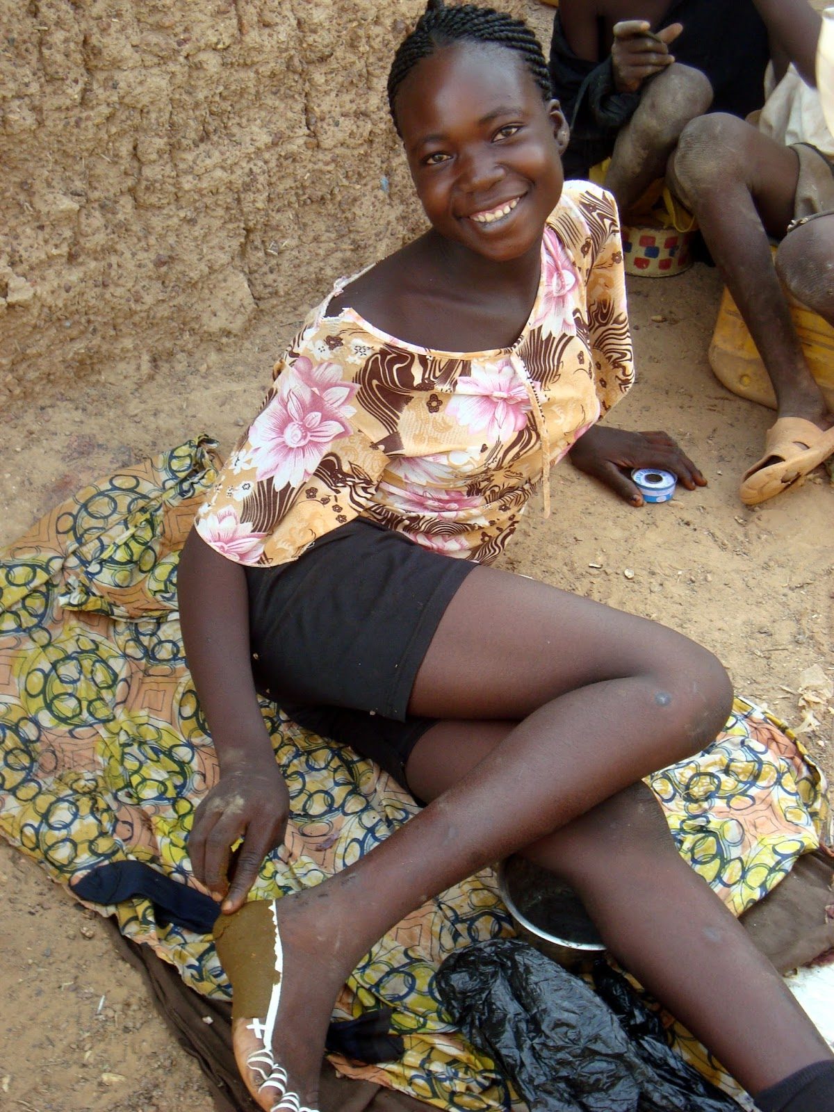 Nigerian girls and ghana girls hot fucking