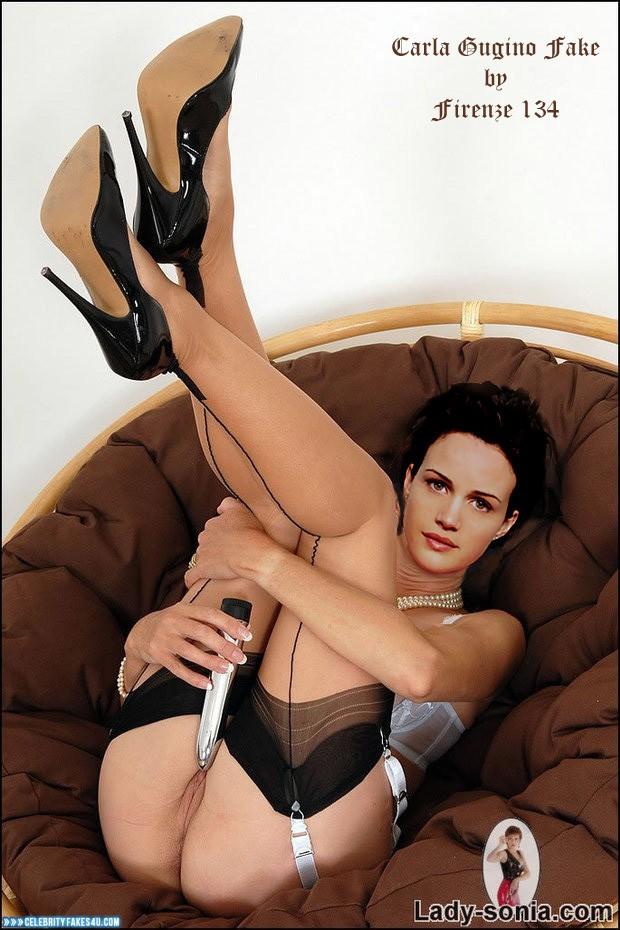 Carla gugino stocking pussy