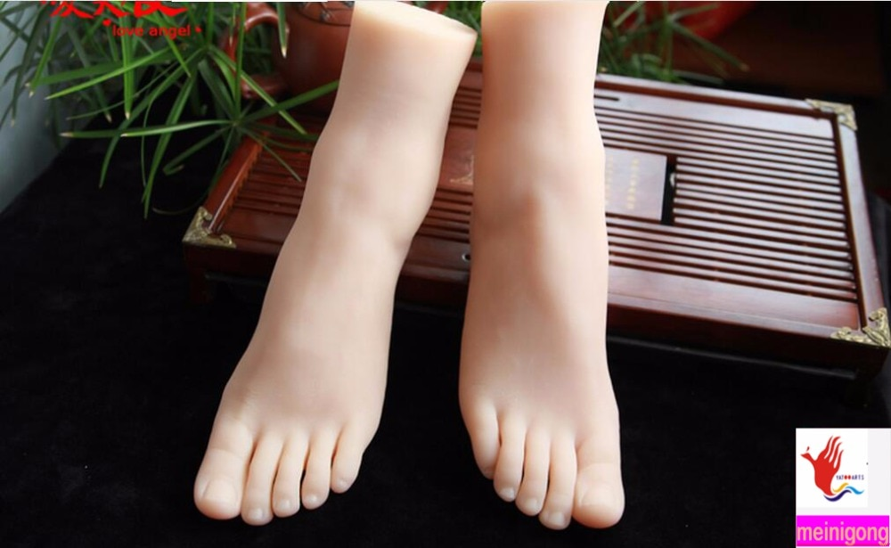 Sex toy silicone feet realistic