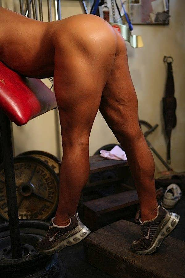 Legs nude girls with athletic