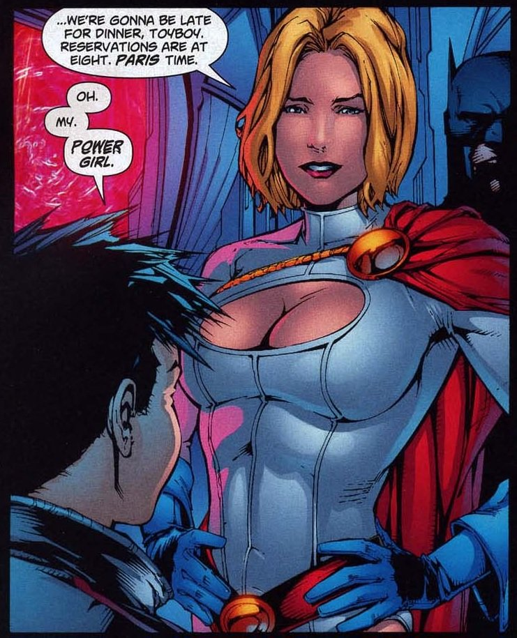 Power girl and supergirl bondage