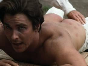 Christian bale nude scene