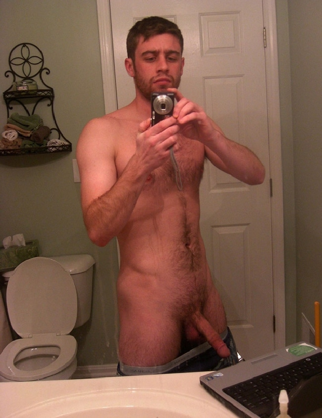 Real white boys huge dick
