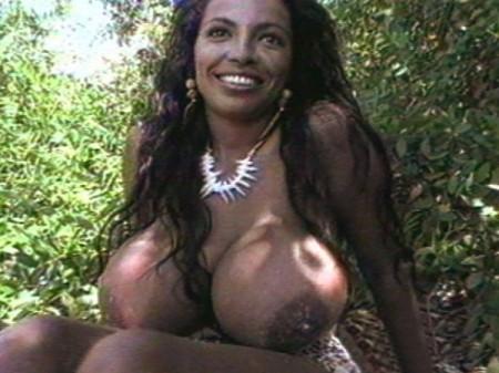 Angelique big boob model