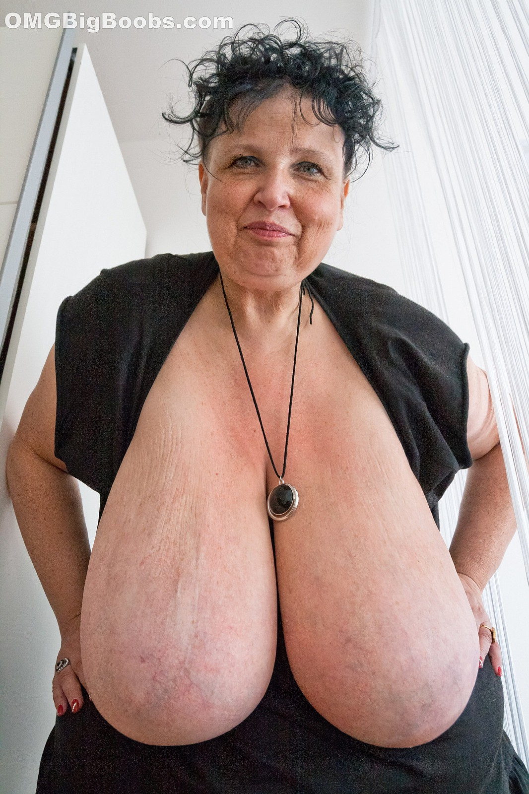 Chest old woman porn sites breast big