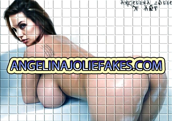 Jolie fakes angelina hardcore