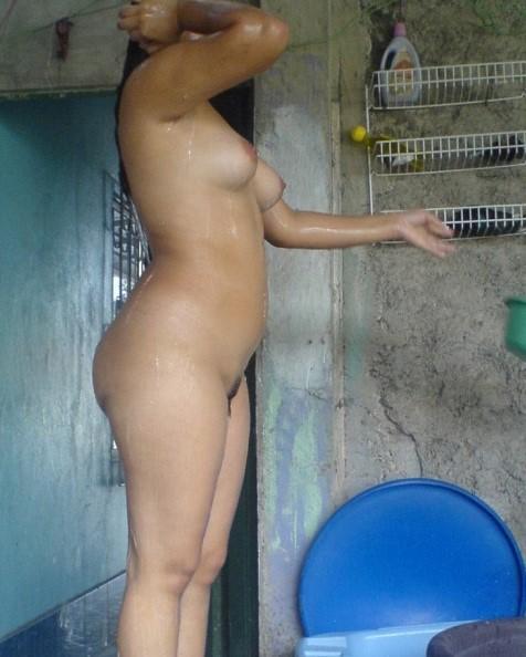 Topless indian girls bathroom