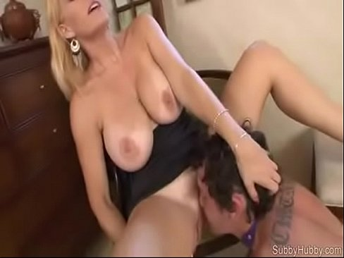 Mom lets me eat her pussy