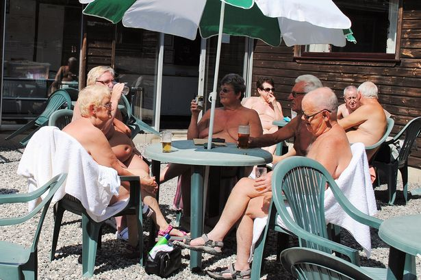 Naturist fun nudist club