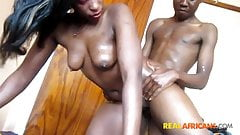 Real african amateur in porn