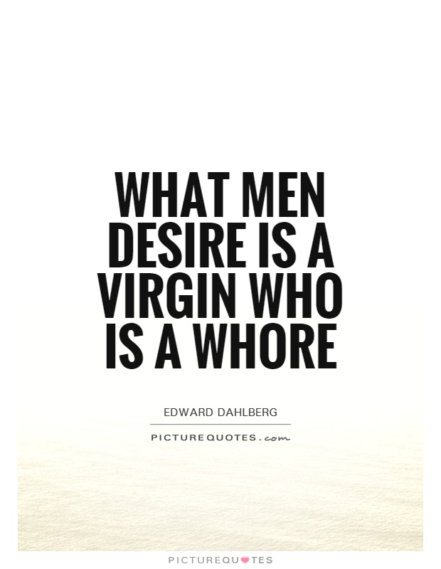 Desire the slut quote