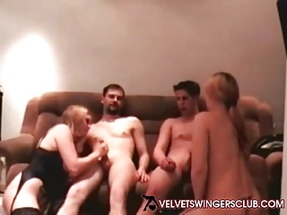 Amateur couples real swinger
