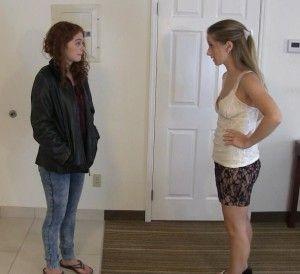 Cute brunette teen girls blowjobs