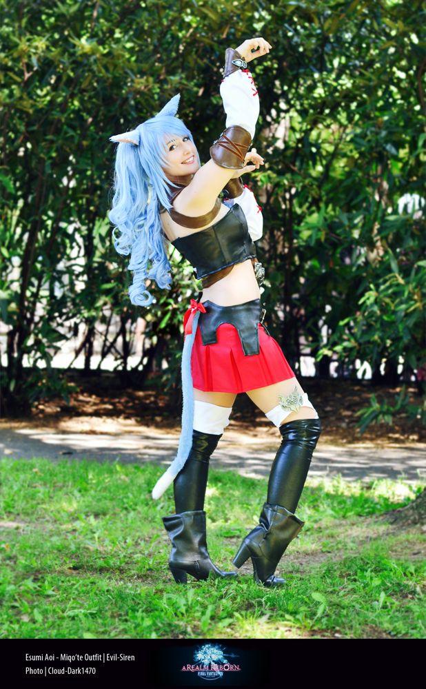 Final fantasy mithra cosplay