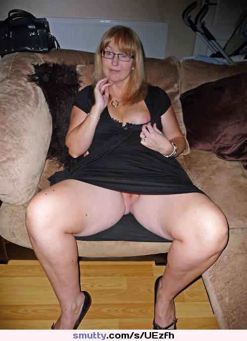 Hot mature up skirt