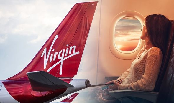 Virgin airlines u k