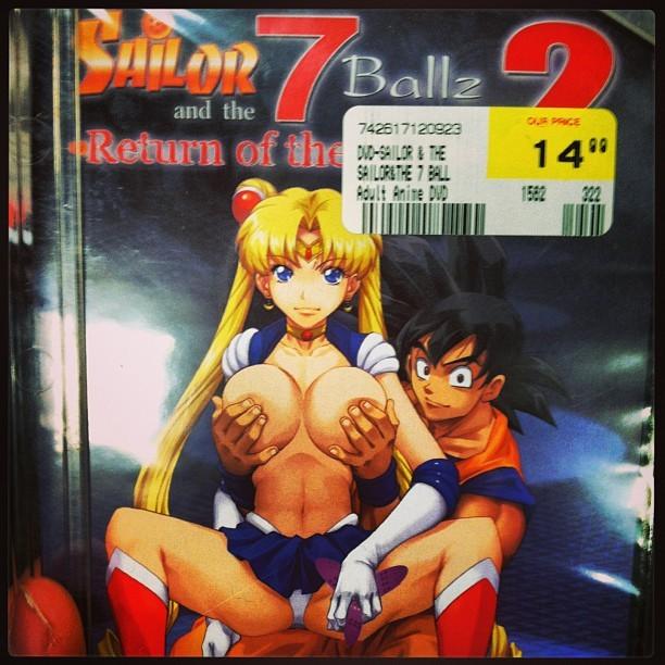 Sailor moon dragon ball z porn