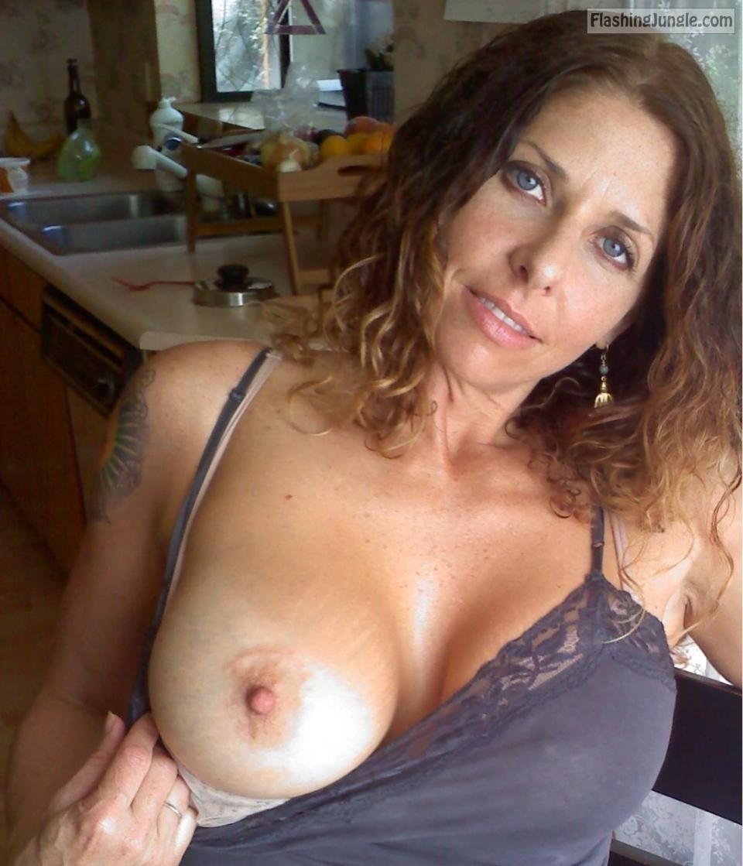 Flashing boobs tumblr amateur
