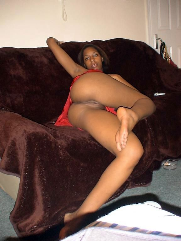 Cute black girl upskirt