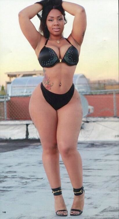 Super wide hips black woman