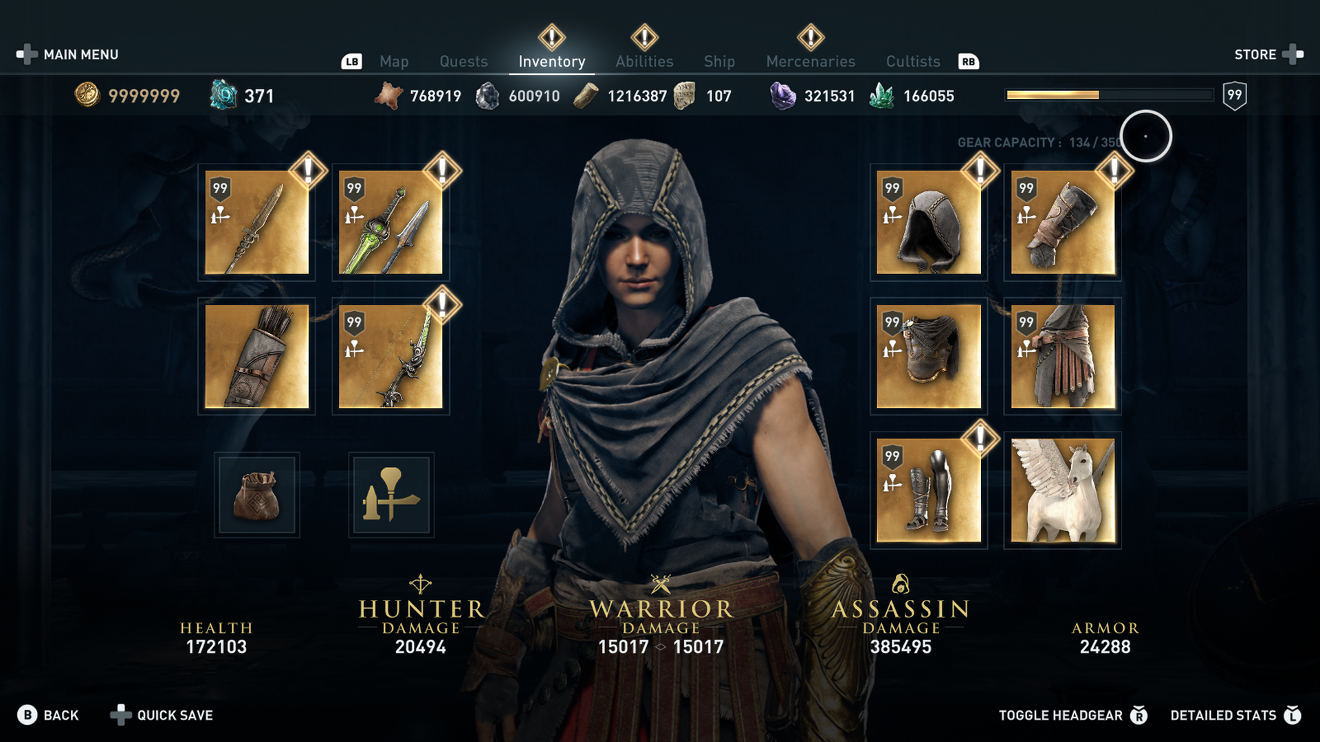 Hunter armor penetration minimum
