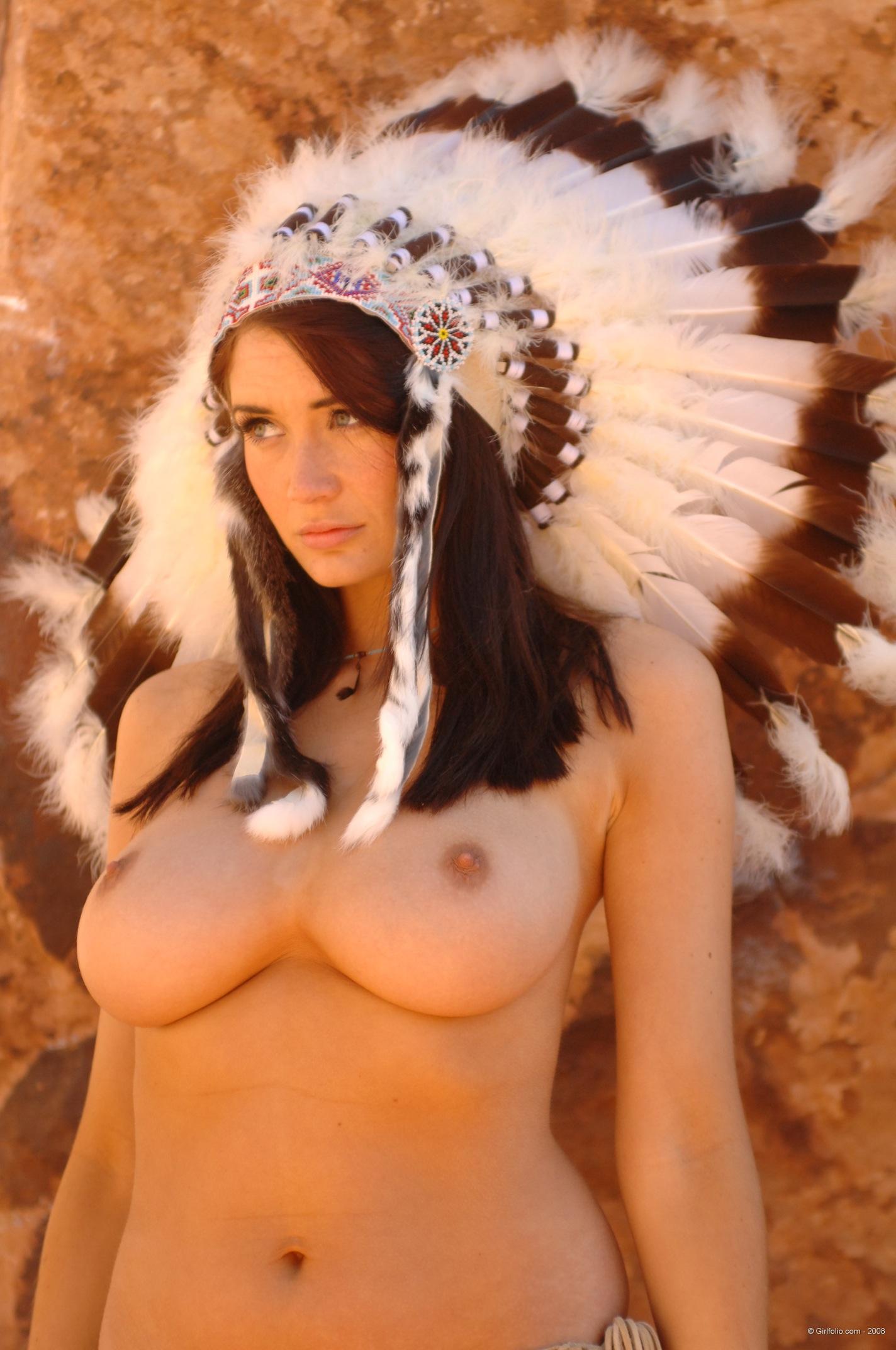 Busty native american women porn