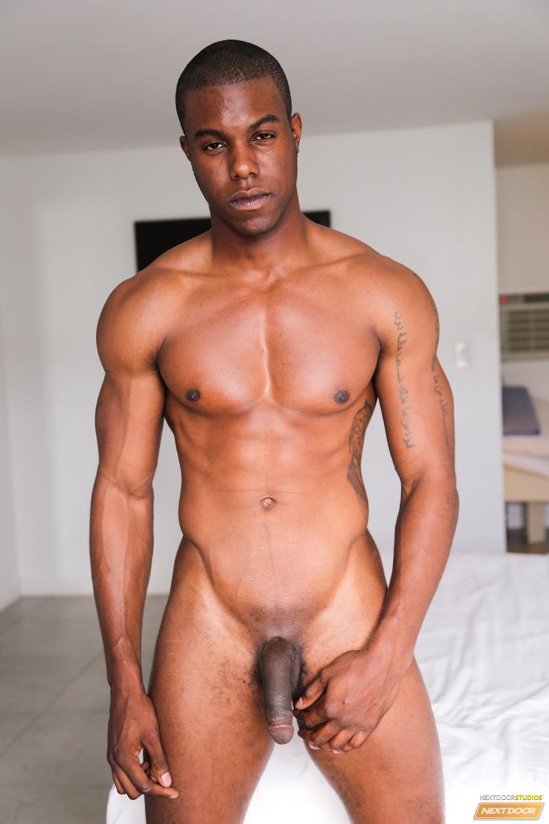 Black hot man nude