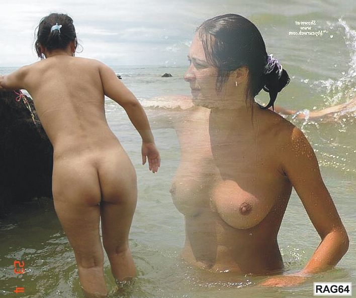 Girls naked in water parks