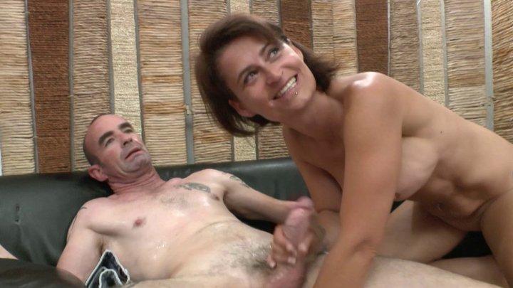Busty mature anal fucks