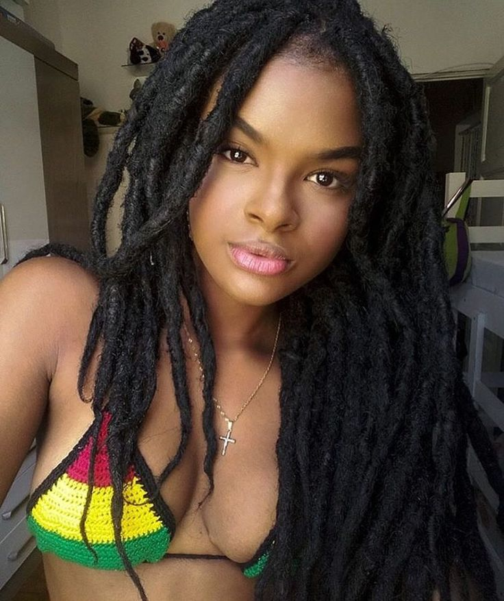 Black girls with dreads porn