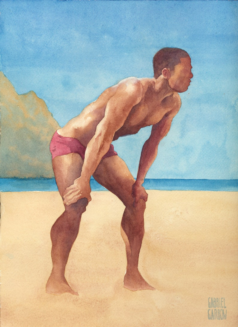 Boys hot beach ethnic at