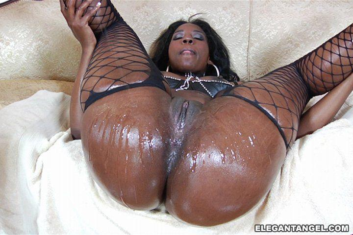 Huge black wet clitoris tits and